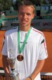 De Speler van het Tennis van Jankovic van Miki Stock Afbeeldingen