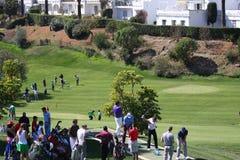 De spelers bij Andalucia Golf openen, Marbella Royalty-vrije Stock Foto's
