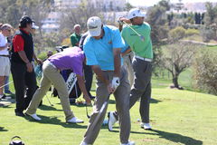 De spelers bij Andalucia Golf openen, Marbella Stock Foto's