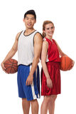 De Spelers van het basketbal Royalty-vrije Stock Foto