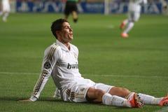 De spelers van Real Madrid Stock Afbeeldingen