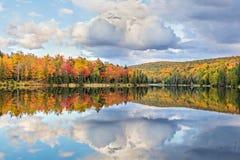 De Spiegel van de herfst Royalty-vrije Stock Fotografie