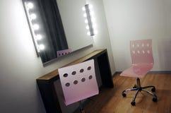 De Spiegel van de make-up stock afbeelding