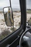 De spiegel van de vrachtwagen Royalty-vrije Stock Foto's