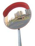 De spiegel van het verkeer Stock Afbeeldingen