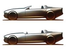 De Spin & Barchetta van het autolichaam Royalty-vrije Stock Afbeeldingen