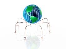 De spin van de bol vector illustratie