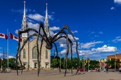 De spinbeeldhouwwerk van Maman Stock Afbeelding