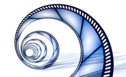 De spiraal van Cinefilm stock illustratie
