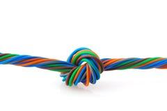 De spiraal van de draad Stock Afbeelding