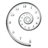 De Spiraal van de tijd Royalty-vrije Stock Foto