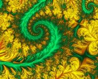 De Spiraal van de tuin Royalty-vrije Illustratie