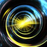 De spiraal van het heelal Stock Foto