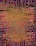 De spiraalvormige Achtergrond Patternn van de Kunst Royalty-vrije Stock Fotografie