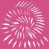 De spiraalvormige achtergrond van de borstelslag Royalty-vrije Stock Fotografie