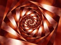 De spiraalvormige Achtergrond van Strepen Stock Afbeelding