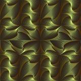 De spiraalvormige driehoeken, vierkanten, kubussen worden gemaakt omhoog in een patroon, achtergrond, textuur Royalty-vrije Stock Afbeelding