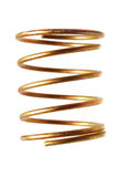De spiraalvormige lente stock afbeeldingen
