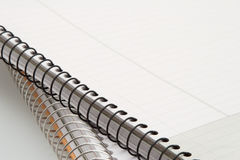 De spiraalvormige notitieboekjes van het metaal Royalty-vrije Stock Foto's