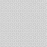 De spiraalvormige Wervelingssamenvatting trekt van het de Lijn Naadloze Patroon van de Ornamentbloem de Bloemen Vectorillustratie Royalty-vrije Stock Afbeeldingen
