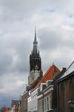 De spits van de Nieuwe Kerk Stock Afbeelding