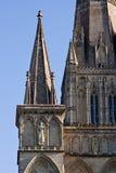 De Spitsen van de kathedraal Royalty-vrije Stock Foto's