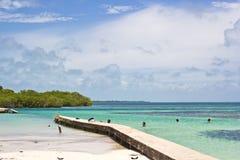 De Spleet, Belize Royalty-vrije Stock Afbeelding