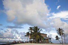 De Spleet, Belize Stock Afbeelding
