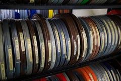 De Spoelen van de bioskoopfilm Royalty-vrije Stock Afbeeldingen