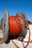 De spoelen van de kabel Stock Fotografie