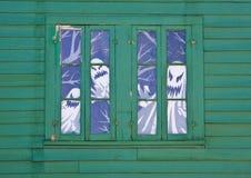 De Spoken van het venster stock foto