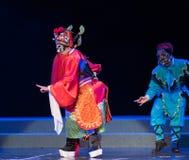 """De spookkoning Zhong Kui - het Pioenpaviljoen--jiangxi opera""""four dromen van linchuan† Royalty-vrije Stock Foto's"""