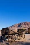 De Spookstad van het calico Stock Foto