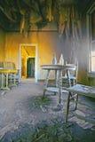 De Spookstad van het lichaam - Laatste Drank Stock Foto's