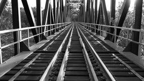 De spoorweg royalty-vrije stock afbeelding