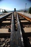 De spoorweg Stock Foto