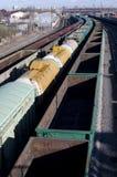 De spoorweg Stock Afbeelding