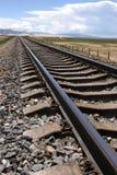 De spoorweg royalty-vrije stock fotografie