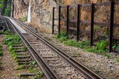 De spoorweg van Birma (Doodsspoorweg) Stock Foto
