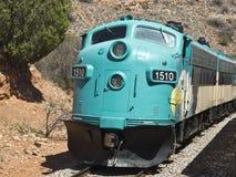 De Spoorweg van de Canion van Verde in Arizona stock afbeelding