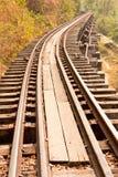 De spoorweg van de dood. Royalty-vrije Stock Fotografie