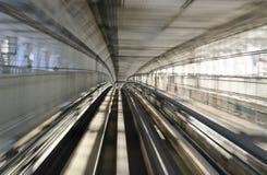De Spoorweg van de Monorail van Tokyo Royalty-vrije Stock Foto's
