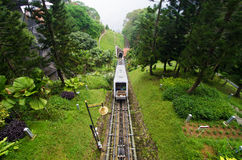 De Spoorweg van de Penangheuvel Royalty-vrije Stock Afbeeldingen