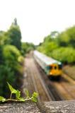 De spoorweg van de snel-doorgang in Londen Stock Fotografie