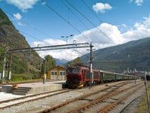 De Spoorweg van Flam royalty-vrije stock foto's