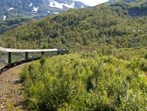De Spoorweg van Flam stock afbeelding