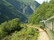 De Spoorweg van Flam royalty-vrije stock afbeelding