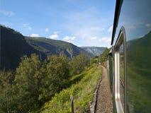 De Spoorweg van Flam royalty-vrije stock fotografie
