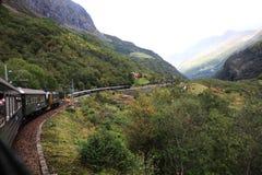 De spoorweg van Flam royalty-vrije stock afbeeldingen