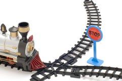 De spoorweg van het kind stock fotografie